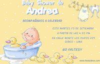 Fiestaideas.com te regala tarjetas de invitaciones imprimibles de Baby Shower totalmente Gratis!!, sorprende a tus invitados con esta original invitación