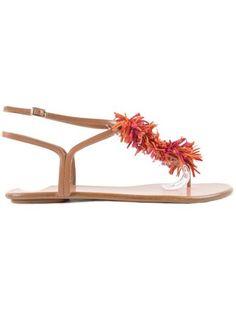 34312ef5f070 AQUAZZURA Aquazzurra Wild Thing Sandal Flat.  aquazzura  shoes  https   Smooth Leather