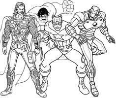 Free Printable Superhero Coloring Sheets Free Printable Superhero