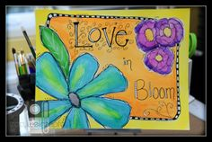 """""""Love in Bloom"""" By Tracy Weinzapfel"""