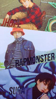 BTS / Yoongi / Namjoon / Hoseok / Wallpaper ©btslocks_