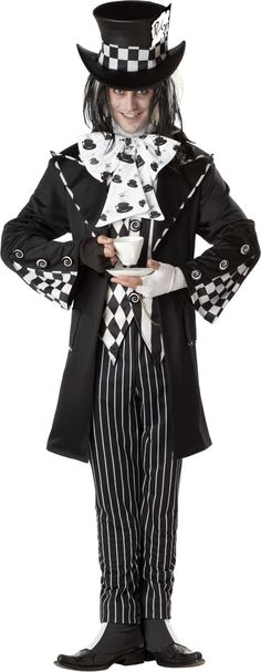 Adult Dark Mad Hatter Costume - Party City