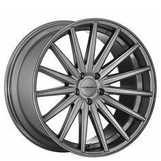 20 Staggered Vossen Wheels VFS2 Gloss Graphite Rims