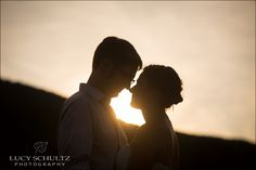 Natural Wedding Photographer | Lucy Schultz Photography | Sunset Wedding Photos