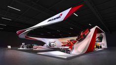 Mclaren Cars, Exhibition Booth Design, Exhibition Ideas, Bookshelf Design, Showroom Design, Interactive Design, Portfolio Design, Layout Design, Arquitetura