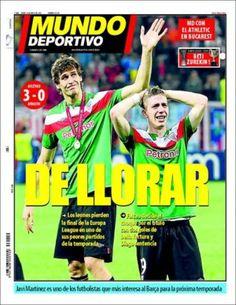 Prensa deportiva del 10 de mayo 2012 – Atlético de Madrid Campeón de la Europa League