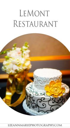 LeMont Restaurant Wedding Reception Photography by Leeann Marie, Wedding Photographers: http://www.leeannmariephotography.com