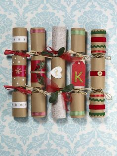 How to make christmas crackers christmas crackers crackers and craft creative christmas crackers far more fun than shop bought solutioingenieria Choice Image