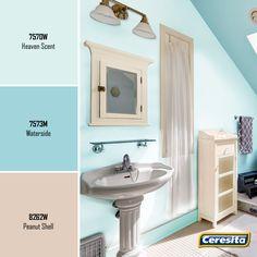 #CeresitaCL #PinturasCeresita #color #baño #pintura #decoración