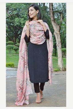 Shop salwar suits online for ladies from BIBA, W & more. Explore a range of anarkali, punjabi suits for party or for work. Punjabi Salwar Suits, Pakistani Dresses, Patiala Salwar, Black Salwar Suit, Indian Suits Punjabi, Anarkali, Black Punjabi Suit, Pakistani Suits, Sharara