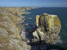 Stack Rocks, Pembrokeshire Coast National Park, #Wales UK