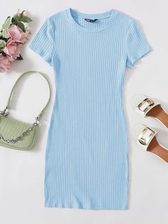Girls Fashion Clothes, Teen Fashion Outfits, Girl Outfits, Stylish Dresses, Cute Dresses, Casual Dresses, Cute Casual Outfits, Aesthetic Clothes, Ideias Fashion