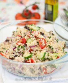 Couscous Cooking at the campsite: couscous salad - Best Summer Dinner Recipes Diner Recipes, Salad Recipes, Punch Recipes, Diet Food To Lose Weight, Weight Loss, Best Camping Meals, Camping Recipes, Couscous Salat, Good Healthy Recipes