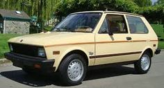 Yugo-went to school on one of these- spare tire is under hood on top of motor. No AC 50 miles to gallon