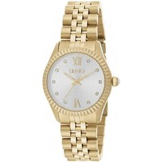 OROLOGIO DA DONNA LIU-JO - € 129 Leggi tutte le caratteristiche... Liu Jo, Gold Gold, Jaba, Gold Watch, Quartz, Watches, Bracelets, Silver, Accessories