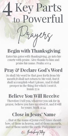 Do you want to pray powerful prayers? Whether you're just beginning to pray to God or have praying for years, this 4 step prayer structure will help your prayers to be more powerful and intentional. Don't forget your FREE printable bookmark! #freeprintabl Prayer Scriptures, Bible Prayers, Faith Prayer, Prayer Quotes, My Prayer, Prayer To Jesus, Bible Psalms, Prayer Book, Bible Art