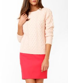 Essential Multi-Knit Sweater #sweaterweather