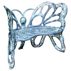 Found it at Wayfair - Butterfly Garden Benchhttp://www.wayfair.com/daily-sales/p/Greenhouses-%26-Gardening-Essentials-Butterfly-Garden-Bench~XJ1186~E13266.html?refid=SBP.rBAZEVLr3UarsRzLxVr6AvltmmAqGUE8nvQnyCcwEyY
