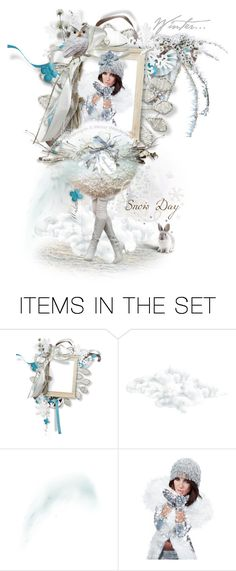 """For My Next Contest in Dollies in Art or Fashion,Winter Doll in the Snow"" by ragnh-mjos ❤ liked on Polyvore featuring art"