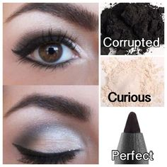 Re-create this look with Younique Moodstruck Minerals Pigment Powders in curious and corrupted; Precision eye liner pencil in Perfect; 3D Fiber Lash Mascara; Moodstruck Precision Brow Liner in Dark, and Moodstruck Precision Brow Gel in Dark.