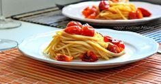 Oggi cucina Nadia: Spaghetti estivi al doppio pomodoro alla Nadia