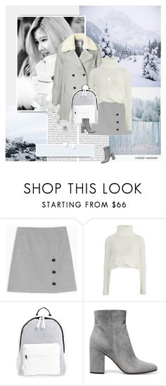 """Frozen"" by rainie-minnie ❤ liked on Polyvore featuring Nana', Max&Co., Cameo, Poverty Flats and Gianvito Rossi"