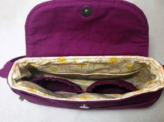 How to Add Interior Pockets to a Purse | AllFreeSewing.com