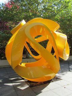 yellow ribbon sphere