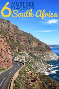 Going to South Africa and wondering what to see? From Cape Town, to the Drakensberg, to the Cape Winelands here are six places to see in South Africa. Africa Destinations, Travel Destinations, Holiday Destinations, Hakuna Matata, Beautiful Places To Visit, Cool Places To Visit, Cape Town South Africa, Africa Travel, Travel Around The World
