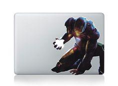 Iron Man---Autocollant Decal de Mac Macbook Stickers Macbook autocollants vinyle pour iPad de Apple Macbook Pro/Air