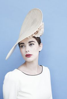 Gina Foster Millinery: This hat is perfect for summer/spring wedding!