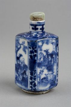 Snuff Bottle - China - Qing Dynasty                                                                                                                                                      More