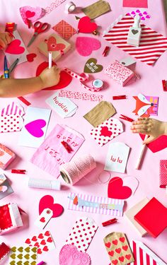 A Valentine's Day Crafternoon | The Sweet Lulu Blog