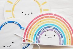 Free printable // weather lacing cards