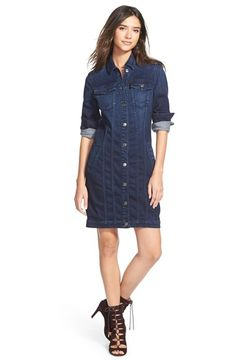 7 For All Mankind® 'Trucker' Dress available at #Nordstrom