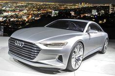 Audi Prologue concept - super pretty in person, saw it last december at Design Miami