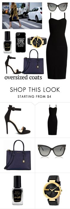 """""""#31 Broadway"""" by kateknowles1 ❤ liked on Polyvore featuring MaxMara, Michael Kors, Tom Ford, Barry M, Gucci and Casetify"""