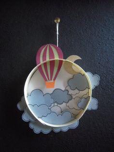 mongolfie`re nuage