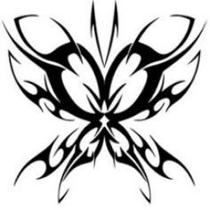 Body Art Tattoos, Tribal Tattoos, Tatoos, Key Tattoos, Skull Tattoos, Foot Tattoos, Sleeve Tattoos, Tribal Butterfly, Free Vector Clipart