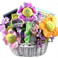 Just ducky easter gift basket with quacking ducks free shipping easter cheer deluxe easter gift basket free shipping negle Images
