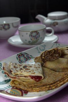 Κρέπες Συνταγή Waffles, Pancakes, Crepe Recipes, Everyday Food, Sweet Bread, Crepes, Brunch, Breakfast, Ethnic Recipes