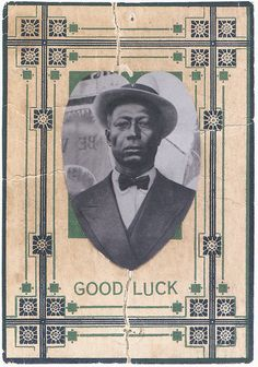 Oldest known photo of Leadbelly, 1918