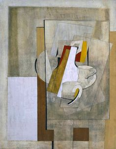 Ben Nicholson OM (still life)', 1945 © Angela Verren Taunt All rights reserved, DACS Abstract Shapes, Abstract Art, Francis Picabia, Georges Braque, Abstract Painters, Painting Still Life, Art Uk, Drawing, Illustration