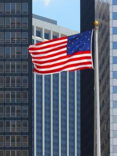 American flag - Manhattan  ©www.image-gratuite.com