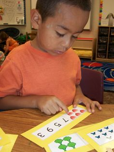 great math center and small group games