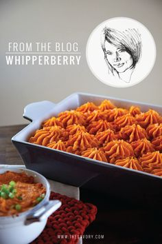 Shepherd's Pie is just one of those wearied American favorites that has a bit of hit-or-miss syndrome. We've happily eaten variations that work and have tried and rejected those that don't. Heather Thoming of Whipperberry offers up a recipe that can't possibly go wrong.She shows us her autumnal take on homey Shepherd's Pie by replacing the traditional mashed potato crust with a bright, fluffy and gorgeous sweet potato topping. Try using our own recipe for pumpkin spice cream cheese in the…