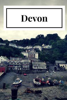 Road trip por el condado de Devon al sudoeste de Inglaterra.