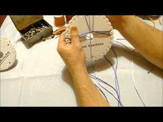 KUMIHIMO XXXIII: CORDON CUADRADO ESPIGAS 12 HILOS - YouTube