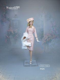 tenue outfit + accessoires pour fashion royalty barbie silkstone vintage #1675 | eBay
