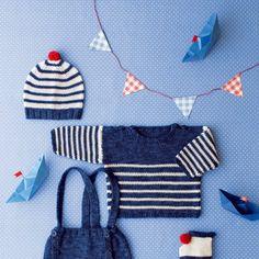 Tricot facile: tricoter pour bébé - Marie Claire Idées